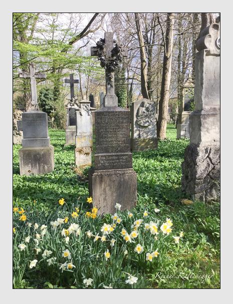 Grab der Familie Geiger auf dem Alten Südfriedhof München (April 2018)