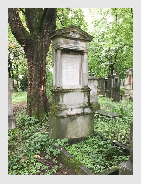 Grab der Familie Rabel auf dem Alten Südfriedhof München (Mai 2018)