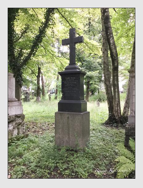 Grab der Familie Braun auf dem Alten Südfriedhof München (Mai 2018)