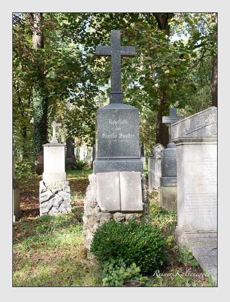 Grab der Familie Sautter auf dem Alten Südfriedhof München (Oktober 2014)
