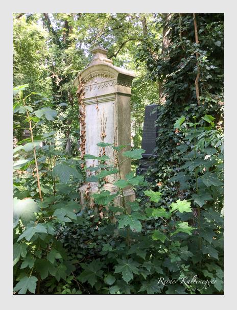Grab der Familie Wintergerst auf dem Alten Südfriedhof München (August 2019)