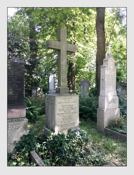Grab der Familie Fruhmann auf dem Alten Südfriedhof München (August 2019)