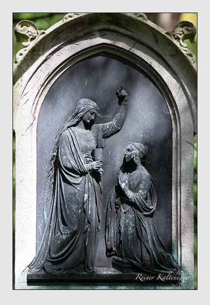 Grab der Familie Greve auf dem Alten Südfriedhof München (August 2011)