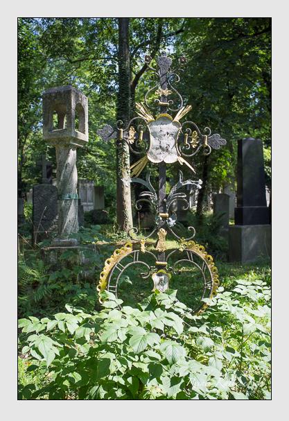 Grab der Familien Reißner · Scheiber auf dem Alten Südfriedhof München (August 2012)