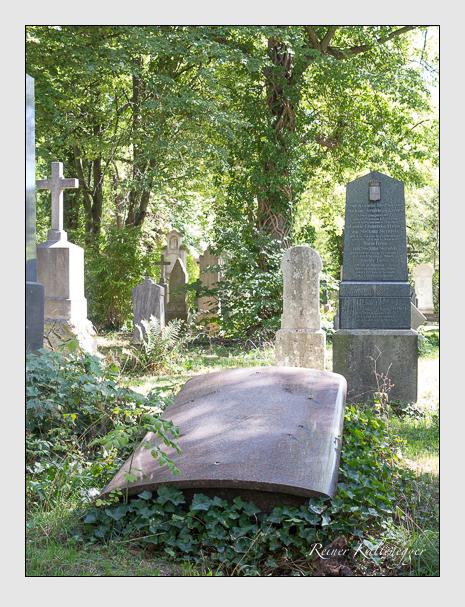 Grab der Familie Löffelholz von Colberg auf dem Alten Südfriedhof München (September 2015)