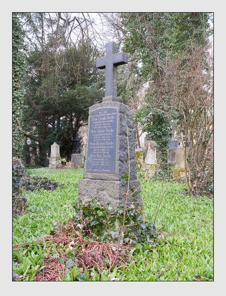 Grab der Familie Dachs auf dem Alten Südfriedhof München (März 2016)
