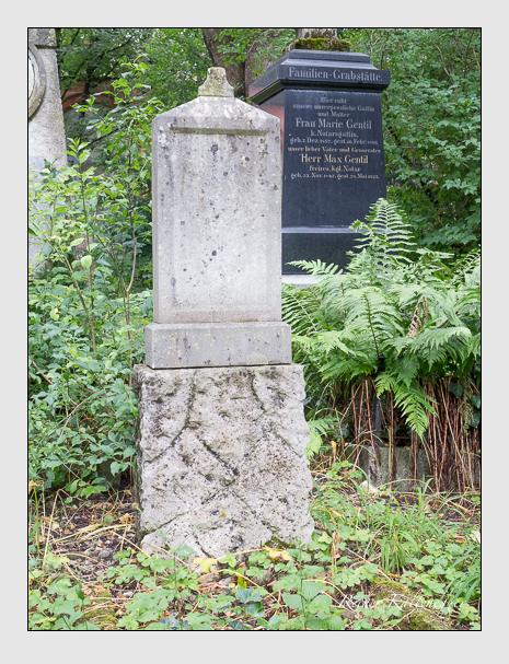 Grab der Familie Lechner auf dem Alten Südfriedhof München (Juli 2016)