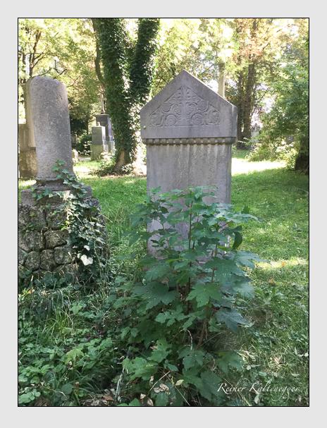 Grab der Familie Kuntz auf dem Alten Südfriedhof München (Oktober 2016)