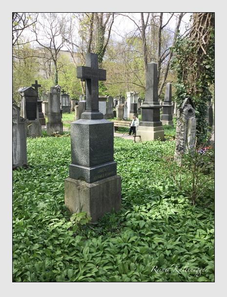 Grab der Familie Beismann auf dem Alten Südfriedhof München (Oktober 2016)
