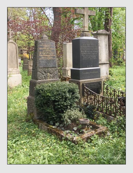 Grab der Familie Seifers auf dem Alten Südfriedhof München (Oktober 2016)