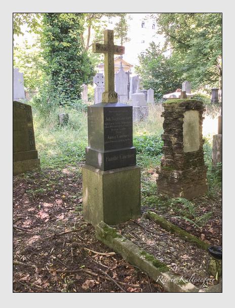 Grab der Familie Gmeiner auf dem Alten Südfriedhof München (Oktober 2016)
