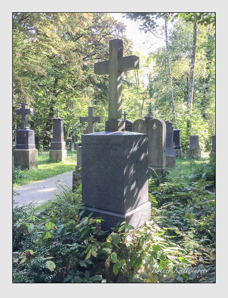 Grab der Familie Riepolt auf dem Alten Südfriedhof München (Dezember 2017)