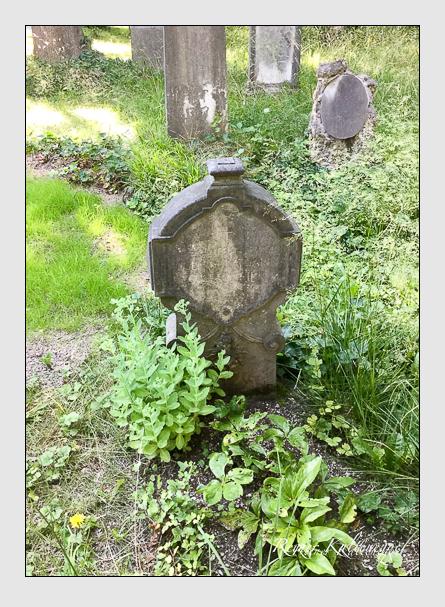 Grab der Familie Obermeier auf dem Alten Südfriedhof München (März 2018)