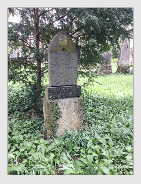 Grab der Familie Martin auf dem Alten Südfriedhof München (April 2018)