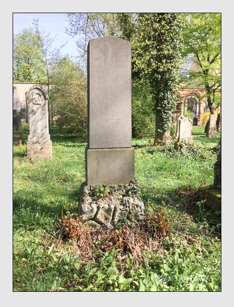 Grab der Familien Bärmann · Dompierre auf dem Alten Südfriedhof München (April 2018)