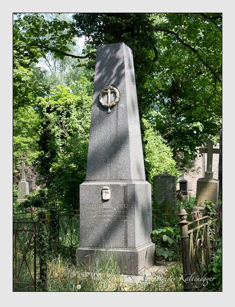 Grab der Familie Mulzer auf dem Alten Südfriedhof München (Mai 2018)