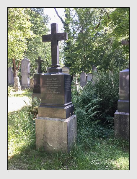 Grab der Familien Wolf · Wolfbauer auf dem Alten Südfriedhof München (Juli 2018)