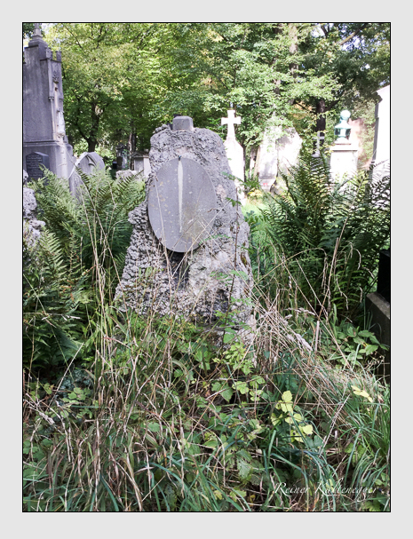 Grab der Familien Donius · Hornung auf dem Alten Südfriedhof München (September 2018)