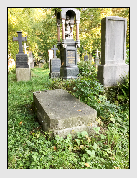 Grab der Familie Weber auf dem Alten Südfriedhof München (September 2018)