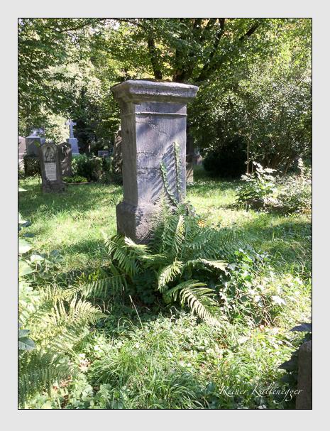 Grab der Familie Werner auf dem Alten Südfriedhof München (September 2018)