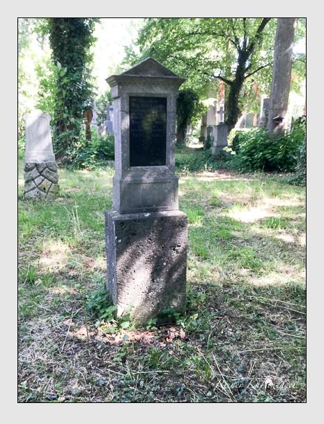 Grab der Familie Gstatter auf dem Alten Südfriedhof München (Juli 2019)