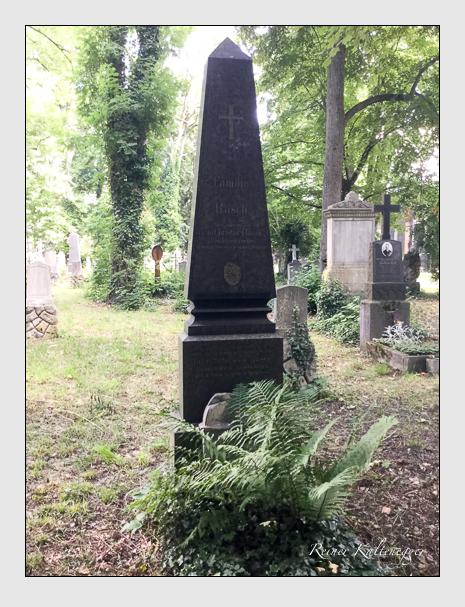 Grab der Familie Rasch auf dem Alten Südfriedhof München (Juli 2019)