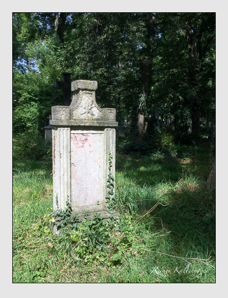 Grab der Familie Krätzer auf dem Alten Südfriedhof München (August 2019)