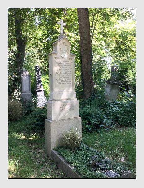 Grab der Familien Spahn · Weinmayr auf dem Alten Südfriedhof München (August 2019)