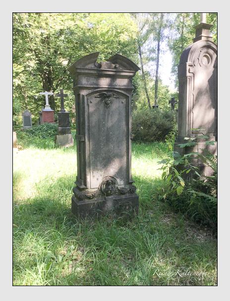 Grab der Familie Scharrer auf dem Alten Südfriedhof München (August 2019)