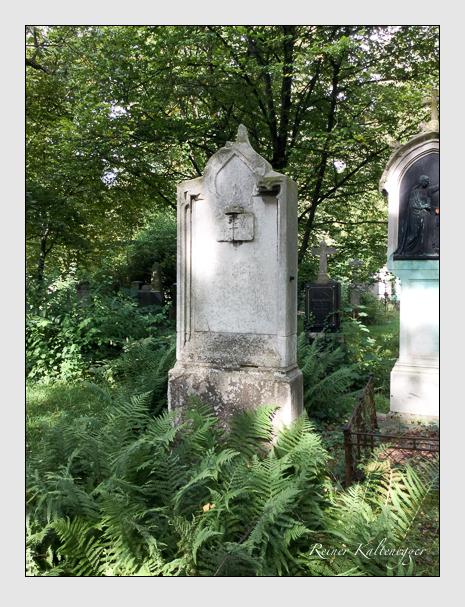 Grab der Familie Kaiser auf dem Alten Südfriedhof München (September 2019)