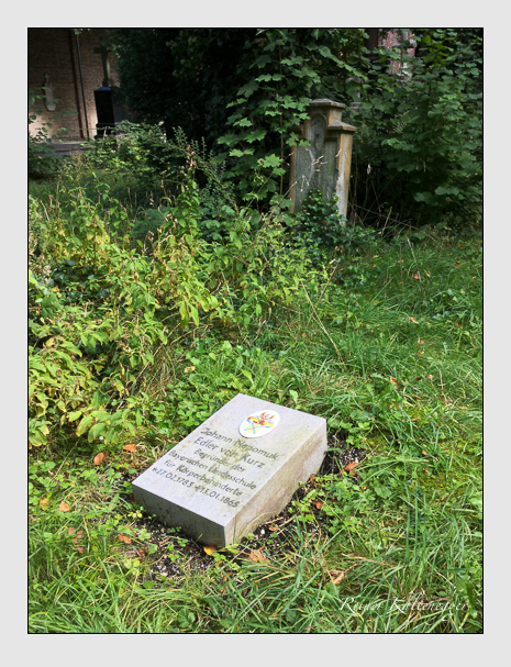 Grab der Familie Kurz auf dem Alten Südfriedhof München (September 2019)