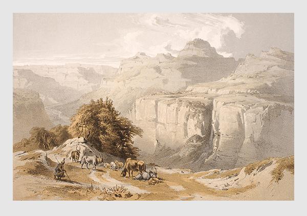 Johann Martin Bernatz. Abbildung aus »Scenes in Ethiopia«. London, 1852.