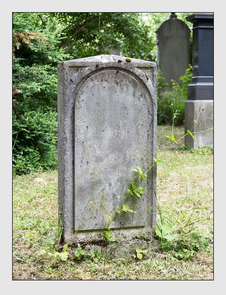 Grab der Familien Bergmair · Streicher auf dem Alten Südfriedhof München (Juni 2014)