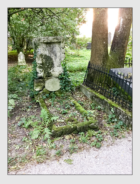 Grab der Familie Riederer auf dem Alten Südfriedhof München (Oktober 2016)