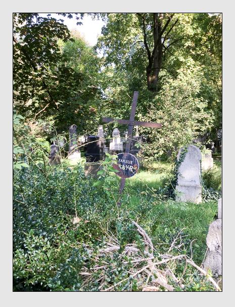 Grab der Familie Mayr auf dem Alten Südfriedhof München (September 2018)