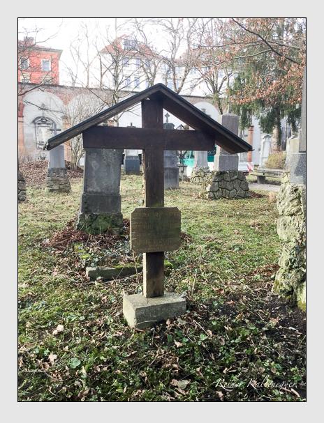 Grab der Familie Reinheimer auf dem Alten Südfriedhof München (Januar 2020)