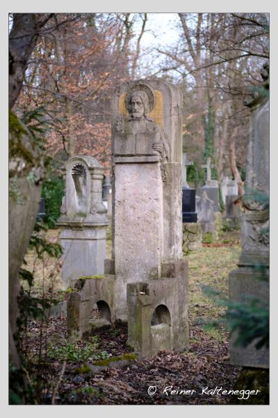 Grab der Familie Neidlein auf dem Alten Südfriedhof München (Februar 2021)