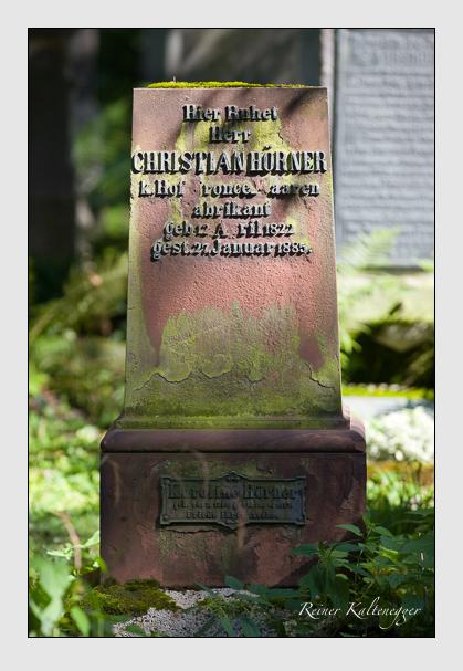Grab der Familie Hörner auf dem Alten Südfriedhof München (August 2011)