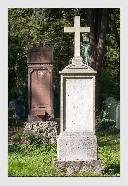 Grab der Familie Stückl auf dem Alten Südfriedhof München (Oktober 2011)