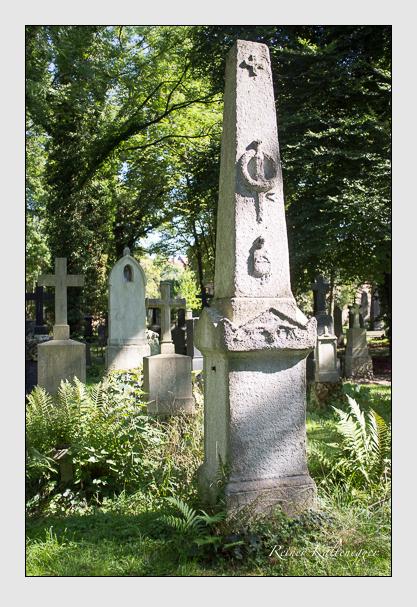 Grab der Familie Fleischmann auf dem Alten Südfriedhof München (September 2012)