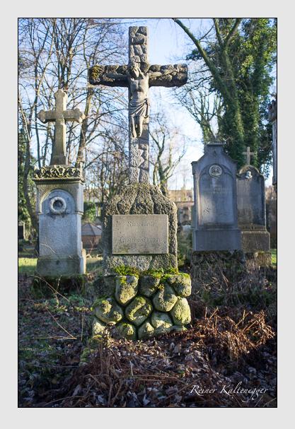 Grab der Familien Geiger · Ortner auf dem Alten Südfriedhof München (Dezember 2012)
