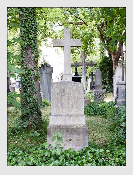 Grab der Familie Dichtl auf dem Alten Südfriedhof München (Juni 2014)