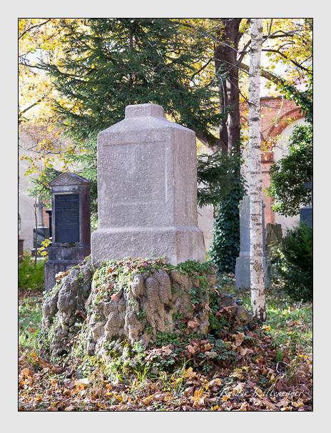 Grab der Familie Schwarzmann auf dem Alten Südfriedhof München (November 2014)