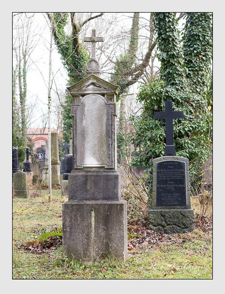 Grab der Familie Zöhrkoch auf dem Alten Südfriedhof München (Dezember 2015)