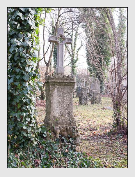 Grab der Familien Purtscher · Wimmer auf dem Alten Südfriedhof München (Dezember 2015)