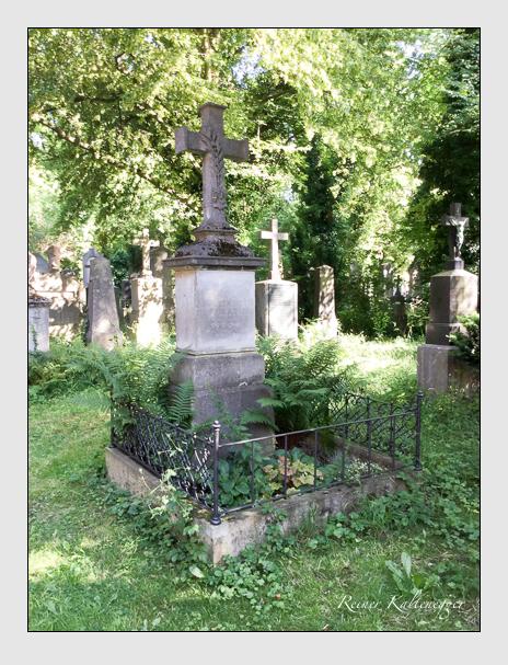 Grab der Familie Deiglmayr auf dem Alten Südfriedhof München (Oktober 2016)