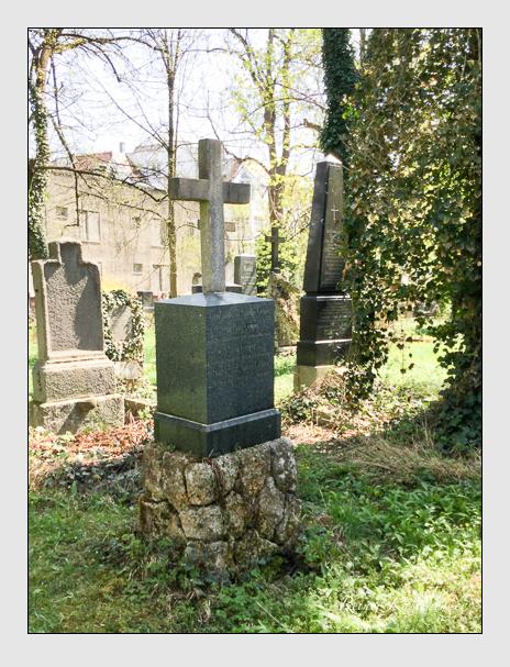 Grab der Familie Geiger auf dem Alten Südfriedhof München (Oktober 2017)