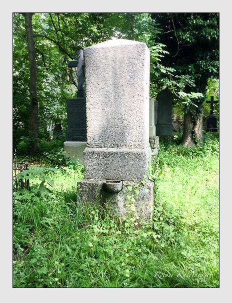 Grab der Familie Hofmann auf dem Alten Südfriedhof München (Oktober 2017)