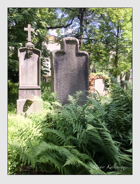Grab der Familie Vogl auf dem Alten Südfriedhof München (Oktober 2017)