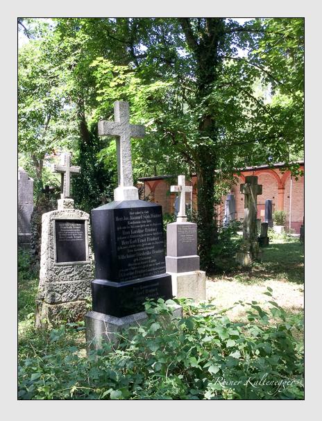 Grab der Familie Peintner auf dem Alten Südfriedhof München (Januar 2018)